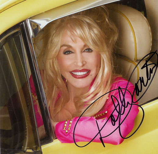 Dolly Parton Signed Autographed CD