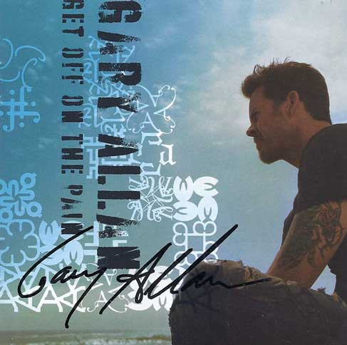Gary Allan Signed Autographed CD